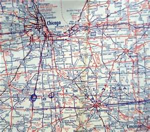 road map of central united states standard central united states automobile highway road