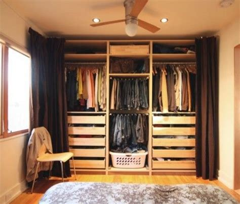 No Closet Doors Open Closet No Doors Curtains Home Bedroom Will No Closet And Closet
