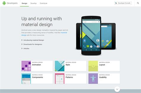 android style guide 10 stunning style guides of leading brands