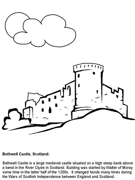 bothwell scotland coloring pages coloring book