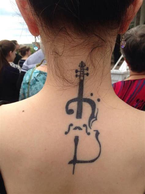 cello tattoo cello ink