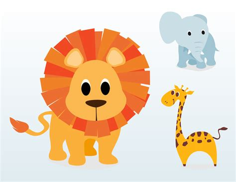Baby Cartoon Animals Clipart   Clipart Kid   cartoon