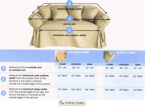 How To Measure For Sofa Slipcovers by Surefit Ready Made Slipcovers For Sofas Loveseats