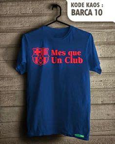 Kaos Barcelona 01 Baju Bola Distro Tshirt Original Ordinal kaos distro bola manchester united gd 24 http www