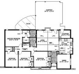 1 Story Floor Plans Gallery For Gt One Story Country House Plans