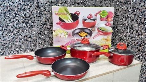Vicenza Cook Set jual parcel lebaran panci supra set 7pc rosemary cookware