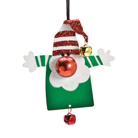 elf mini christmas ornament happy holidayware