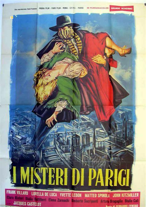 misteri film legion quot misteri di parigi i quot movie poster quot i misteri di parigi