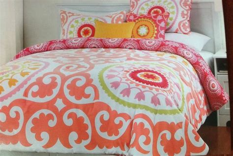 cynthia rowley twin xl 4 piece comforter set college