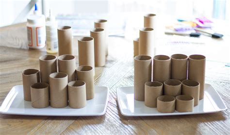 paper desk organizer craft roll diy desk organizer