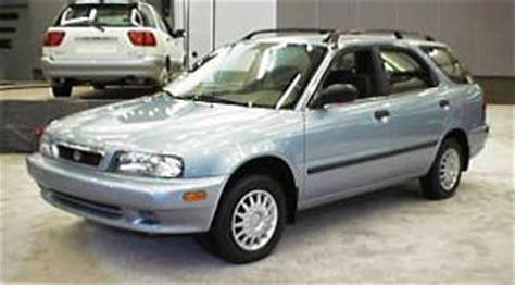 98 Suzuki Esteem 1998 Suzuki Esteem Wagon Specifications Car Specs