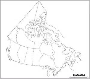 blank map of us and canada canada blank map