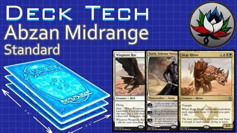 Midrange Deck by Abzan Midrange Standard Deck Tech Khans Of Tarkir