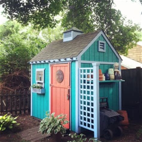 Paint For Garden Sheds by Debbie Miller Painting Garden Shed