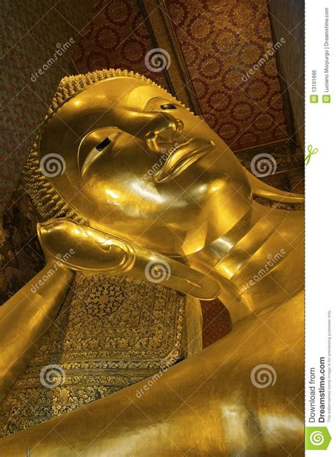golden reclining buddha bangkok golden reclining buddha statue in wat pho bangkok royalty