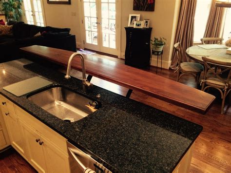 Kitchen Bar Tops by Raised Bar Tops J Aaron