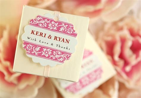 Wedding Favors Labels by Favor Labels And Tag Ideas Wedding Favors Photos By