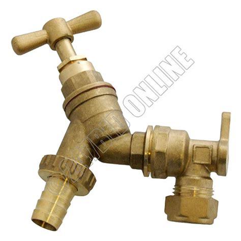 Tap Connector Hose outdoor garden tap kit brass hose connector adaptor fittings spray gun nozzle ebay