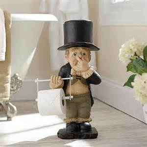bathroom butler toilet paper holder stinky butler toilet paper holder