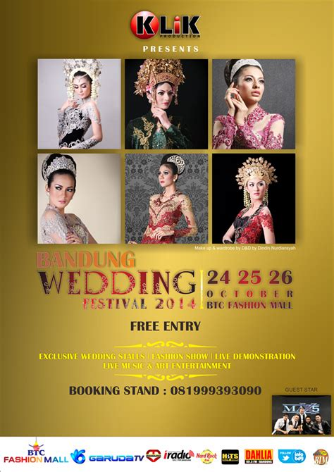 Wedding Festival Bandung by Bandung Wedding Festival Btc Mall 24 26 Oktober 2014