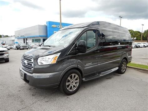 2015 Ford Transit Explorer Limited SE 7 Passenger Hightop