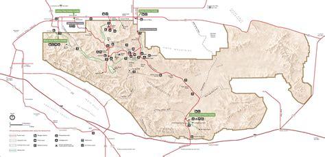 joshua tree hiking map mountain trail joshua tree np allesamerika forum