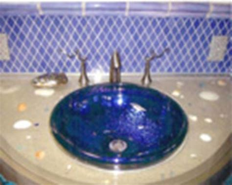cobalt blue vessel sink crackled cobalt glass vessel bathroom sink sinks gallery
