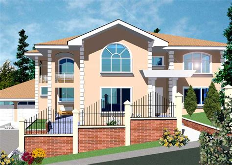 ghana home plans ghana house plans archives
