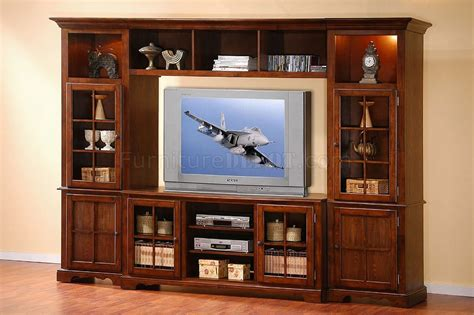 wall units merlot oak finish classic large wall unit w lights in towers
