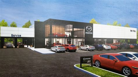king mazda building   state   art facility triad business journal