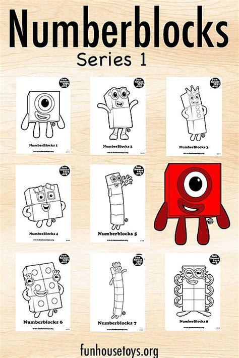 numberblocks series  activities activities  kids