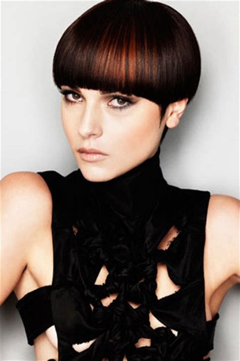 Ahort Hair Dancer Escorts | espresso brown mushroom cut love the color its only
