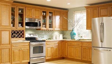 Country Kitchen Cabinets by Country Oak Kitchen Cabinets