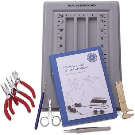 jewelry kits for beginners beginner s bead kit includes pliers bead board and