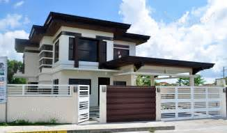 Two Storey House Modern Two Storey House Design Home Decorating Ideas