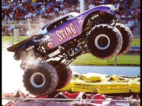 youtube monster jam trucks monster jam wwe wcw wwf monster trucks tribute youtube