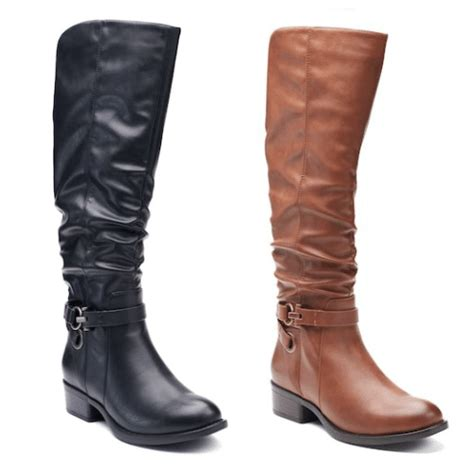 apt 9 boots kohls s knee high boots as low as 31 49 reg