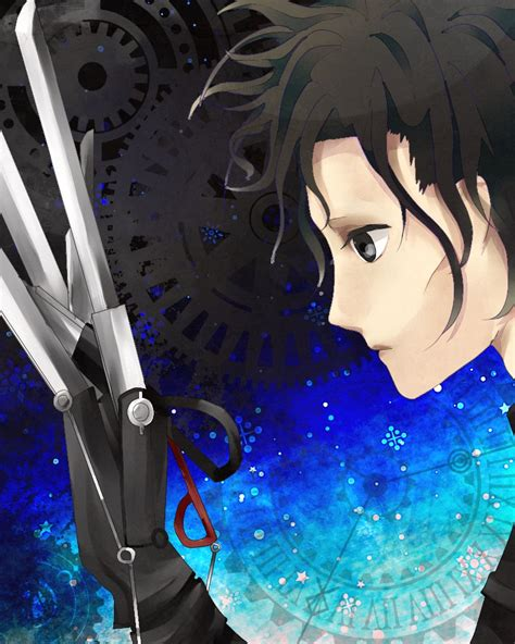 A Anime And by Edward Scissorhands Zerochan Anime Image Board