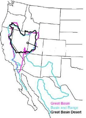 great basin american map great basin new world encyclopedia
