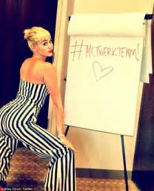 Miley Cyrus Twerk Meme - miley cyrus raves about twerking dance craze but makes