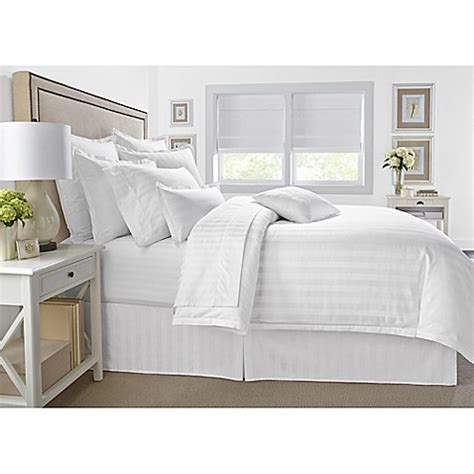 wamsutta comforter sets wamsutta 174 500 thread count pimacott 174 damask stripe