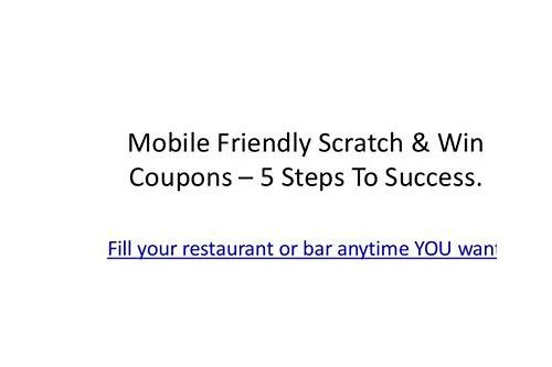 michaels coupon mobile friendly