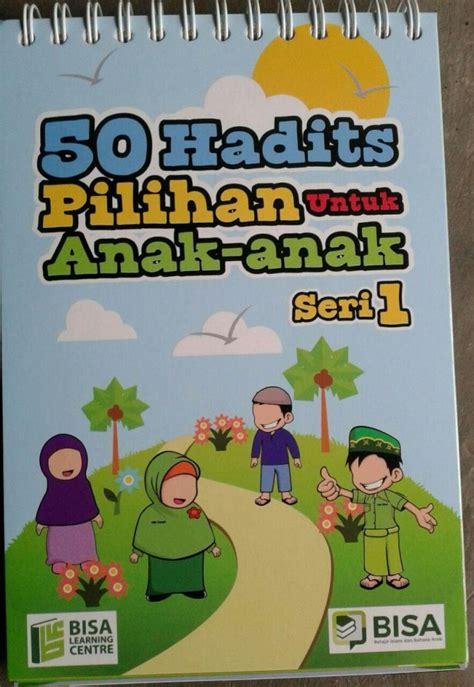 Buku 50 Islami Terbaik Untuk Anak Toko Buku buku poster kalender 50 hadits pilihan untuk anak seri 1