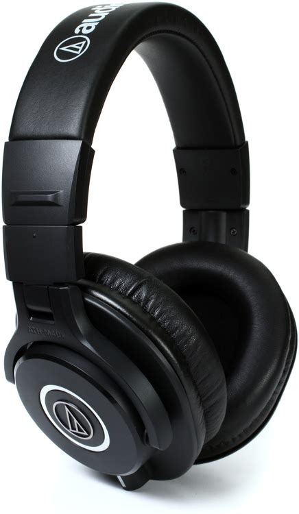 Headphone Audio Technica M40x audio technica ath m40x closed back studio monitor headphones sweetwater