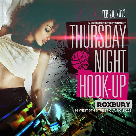 Thursday Three In The Club by Thursday Hook Up Tickets The Roxbury Club On