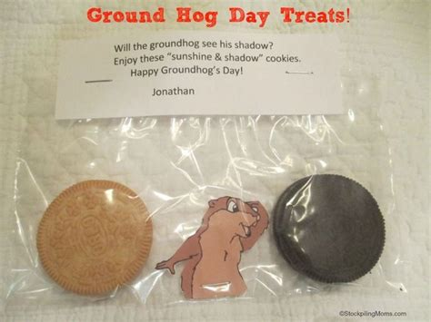 groundhog day supplies diy ground hogs day treats for