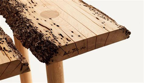 Wooden Chair Designs by Old Wood Design Reclaimed Material Is Going Raw Design