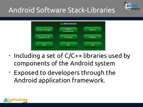android layout framework 02 architecture of android