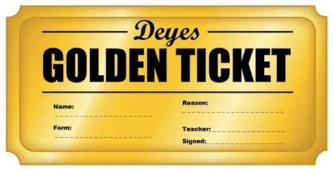 Template Photos Of Golden Ticket Template Golden Ticket Template Free Golden Ticket Template Editable