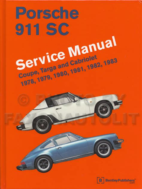 automotive service manuals 1998 porsche 911 user handbook 1978 porsche 911sc owner s manual original